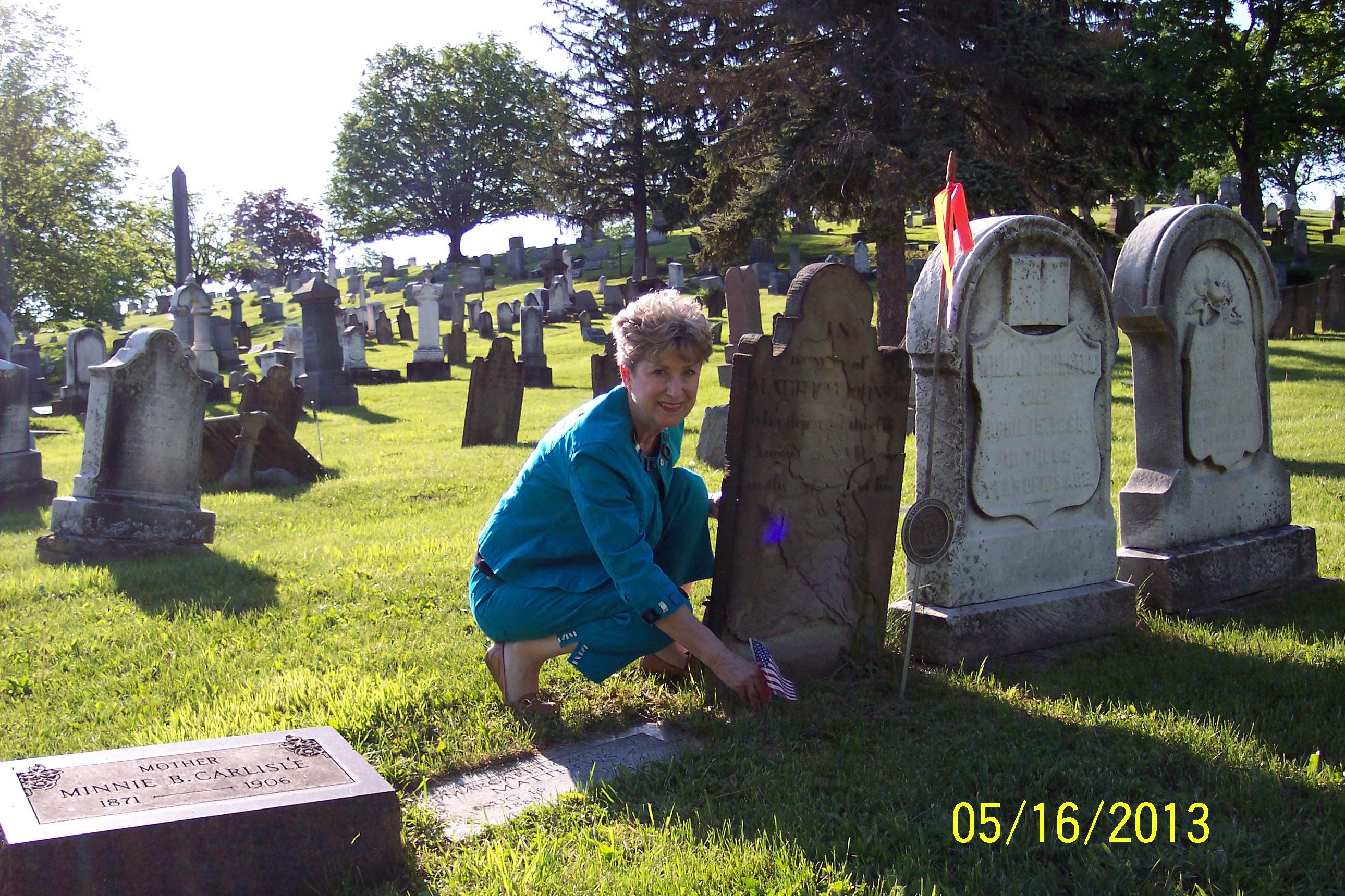 DAR Matt Johnston Shirley Headstone